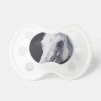 Chupeta Um cavalo branco