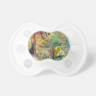 Chupeta Um Pacifier de Arsty que seja colorido e esteja