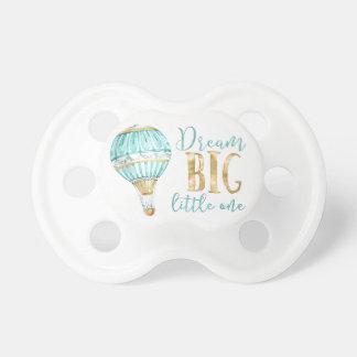 Chupeta Um Pacifier pequeno grande ideal do balão de ar