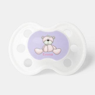 Chupeta Urso de ursinho cor-de-rosa bonito do bebê do