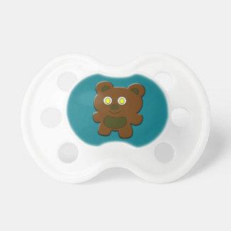 Chupeta Urso de ursinho de Lil - Pacifier do costume de