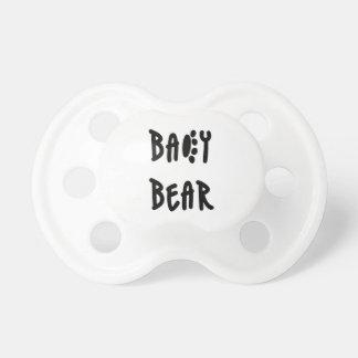Chupeta Urso do bebê