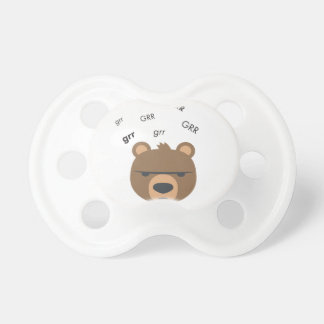Chupeta Urso Emoji bonito de Grr