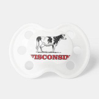 Chupeta vaca vermelha de Wisconsin