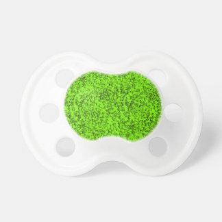 Chupeta verde abstrato