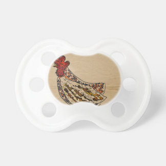 Chupeta Vintage da galinha