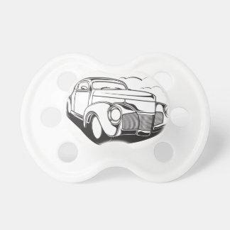 Chupeta Vintage retro do carro clássico