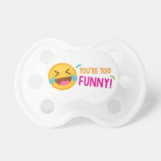 Chupeta Você é Emoji engraçado