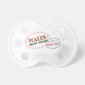 Chupeta Wales feito lá isso