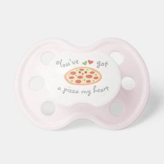 Chupeta You've obteve a uma pizza meu coração chalaça