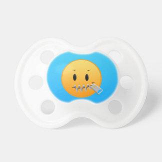 Chupeta Zipper Emoji