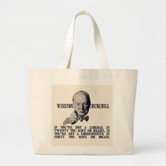 Churchill em conservadores e em liberais bolsas