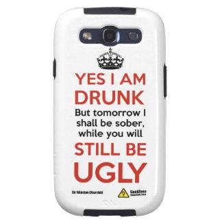 Churchill na manhã por GeekZone Capa Personalizadas Samsung Galaxy S3