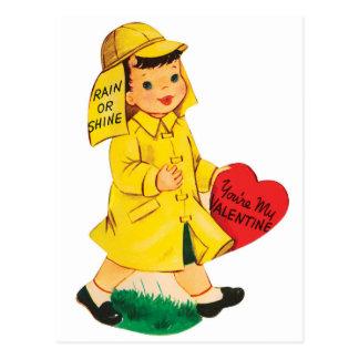Chuva ou cartão dos namorados   do brilho  