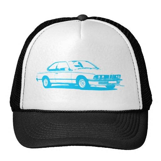 Ciano claro clássico de BMW Boné