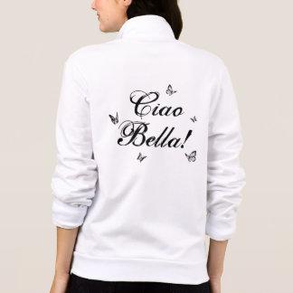 Ciao Bella com o basculador do fecho de correr da Jaqueta