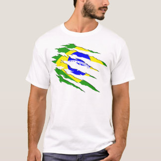Cicatriz brasileira camiseta