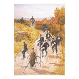 Ciclismo SUPERIOR Convite 12.7 X 17.78cm