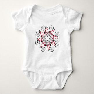 Ciclo da bicicleta body para bebê
