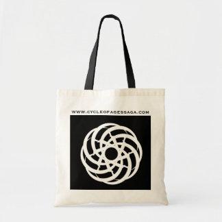 Ciclo do logotipo da saga das idades -- Sacola Sacola Tote Budget