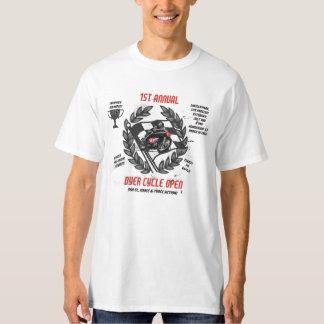 Ciclo do tintureiro aberto camiseta