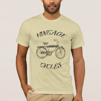 ciclos do vintage camiseta