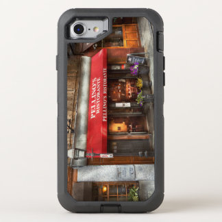 Cidade - Boston, MÃES - o Ristorante de Pellino Capa Para iPhone 8/7 OtterBox Defender