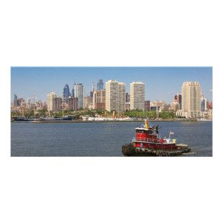 Cidade - Camden, NJ - a cidade de Philadelphfia Panfleto