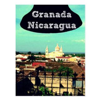 Cidade cartão de Granada, Nicarágua