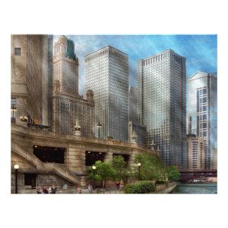 Cidade - Chicago IL - continuando um legado Modelos De Panfleto