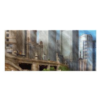 Cidade - Chicago IL - continuando um legado 10.16 X 22.86cm Panfleto