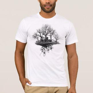 Cidade da árvore camiseta