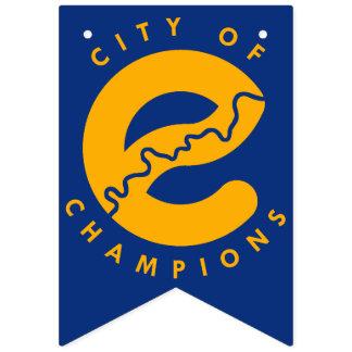 Cidade da bandeira da bandeira dos campeões