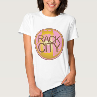 Cidade da cremalheira camiseta