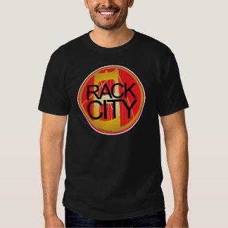Cidade da cremalheira camisetas