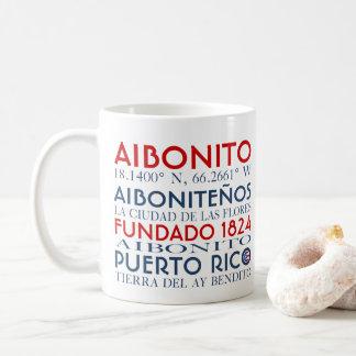 Cidade de Aibonito, Puerto Rico Caneca De Café