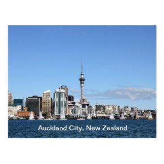 Cidade de Auckland, Nova Zelândia em o dia Cartão Postal