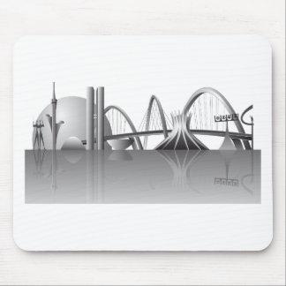 Cidade de Brasília Mouse Pad