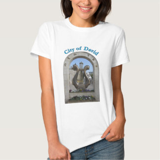 Cidade de David em Jerusalem, Israel Camisetas
