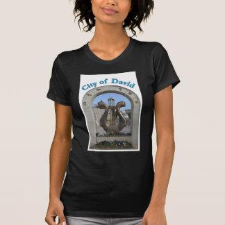 Cidade de David em Jerusalem, Israel T-shirt