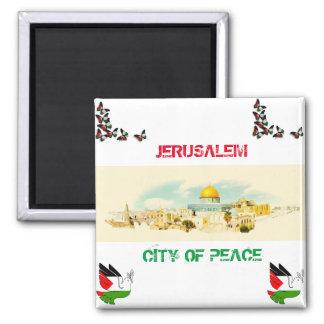 Cidade de Jerusalem de P [lembrança da imã de