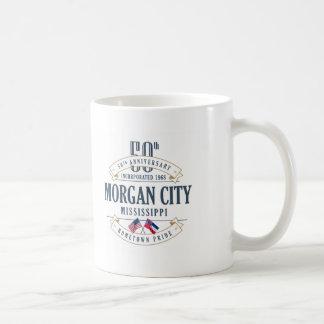 Cidade de Morgan, caneca do aniversário de