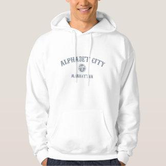 Cidade do alfabeto moletom com capuz