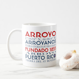 Cidade do Arroyo, Puerto Rico Caneca De Café