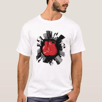 Cidade do encaixotamento camiseta