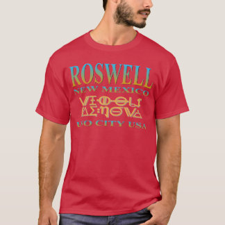 Cidade do UFO de Roswell Camiseta