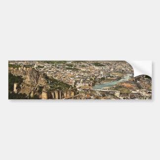 Cidade e fortaleza, Tiflis, Rússia, (Tbilisi, Geor Adesivo
