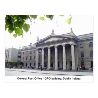 Cidade Ireland de GPO Dublin Cartão Postal