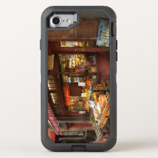 Cidade - mães de Boston - carnes frescas e fruta Capa Para iPhone 8/7 OtterBox Defender