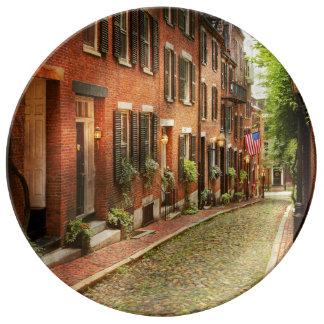 Cidade - MÃES de Boston - rua da bolota Prato De Porcelana
